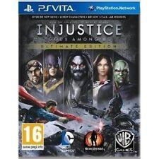 Vita-Injustice: Gods Among Us - Ultimate Edition /Vita  GAME NEW