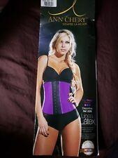 Ann Chery Waist Cincher Trainer Girdle 2026 Faja,waist 27 inches,purple,small 32