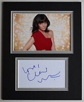 Claudia Winkleman Signed Autograph 10x8 photo display TV Strictly Dancing COA