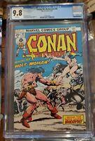 Conan The Barbarian #49 Who The Gods Name Death! CGC 9.8 white