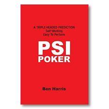 Magic Tricks | PSI-Poker by Ben Harris