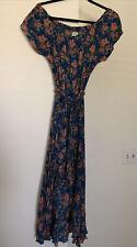 O'Neill HI-Lo Ruffled Hem Floral Dress Medium