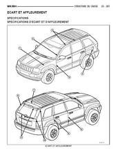 manuel atelier entretien réparation technique Jeep Grand Cherokee WH - WK - Fr