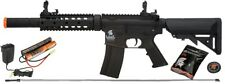 Lancer Tactical M4 GEN 2 SD Airsoft Gun Rifle AEG Metal Gears Raider 9.6v BLACK
