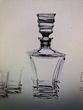 Royal Doulton Crystal Prism Decanter Set: Decanter & 4 Tumblers