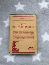 The Stag'S Hornbook Knopf Borzoi 1943 Hc Dj Drinking Mencken Songs Mens Risque