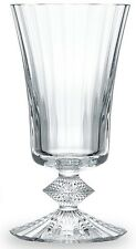 NEW STAMPED & SIGNED BACCARAT CRYSTAL CLEAR MILLE NUITS WATER/WINE GOBLET 5 5/8