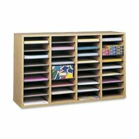 """Safco 36 Compartment Adjustable Shelves Literature Organizer - 24"""" Height X"""