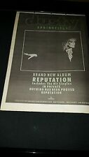 Dusty Springfield Reputation Rare Original U.K. Promo Poster Ad Framed!