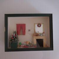 Rahmen Kiste Schaukasten Weihnachten Handgefertigt Ecv Jugendstil Deko Xx Pn