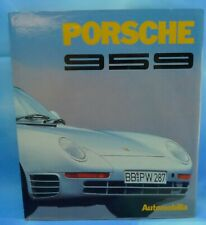 Porsche 959 Automobilia Stefano Pasini (Hardcover, English & Italian Text)