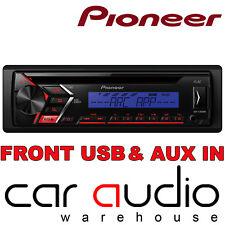 Pioneer DEH-S100UBB CD MP3 USB AUX 1 RCA Stereo Auto Radio Lettore Di Visualizzazione Blu