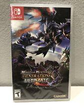 Capcom Monster Hunter Generations Ultimate (Nintendo Switch,2018) Sealed CIB