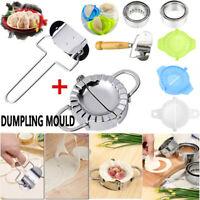 Stainless Steel Dumpling Maker Mould Mold Dough Press Cutter Kitchen Pastry Tool