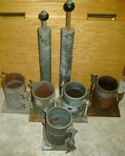 Lot of SoilTest Parts Soil Test Compaction Mold Rammer Soil Testing Equipment