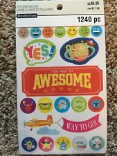 Teacher Sticker Book By Recollections™ 1240 NEW