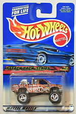 Hot Wheels 2000 Attack Pack Series #021 Nissan Truck W+