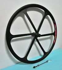 NEW Mag Alloy Black 700c 8/9/10-gear Rear Wheel for MTB, Disc Brake