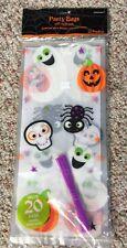 Halloween Calabazas & Fantasmas Grande Bolsas Celo Paquete de 20 bolsas,Para