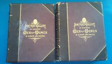 Portrait Gallery of Eminent Men and Women of Europe and America Vol 1 & 2 1873
