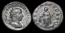 Trebonianus Gallus AR antoninianus Libertas standing left