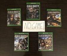 Call of Duty 2 3 Classic Cover Art Replacement Case Xbox One 360 Collection Lot