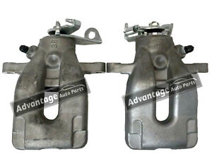 FITS PEUGEOT 307 308 2000-2014 REAR LEFT & RIGHT BRAKE CALIPERS NEW - 4400N4