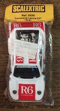 slot scalextric Blister 6525 Carrocería y chasis Lancia 037 Rally R6