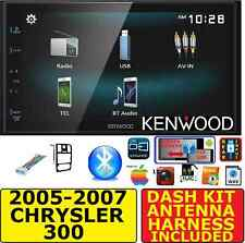 05-07 CHRYSLER 300 JVC-KENWOOD BLUETOOTH SCREEN MIRROR USB CAR RADIO STEREO PKG