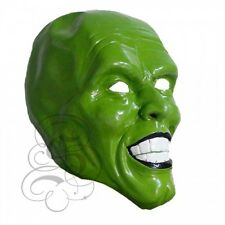 Latex Famous TV Movie Personality Jim Carry Green Face High Quality Party Masks