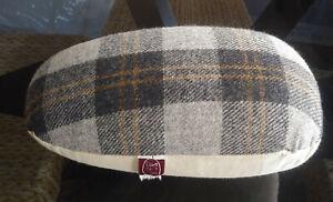 Vintage Dritz Dressmaker's Tailoring Wool Plaid & Cotton Sleeve Pressing Ham
