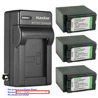 Kastar Battery AC Wall Charger for Panasonic DE-A20 DE-A88C VSK0581 AGB23 B23P