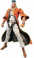 Super Action Statue JOJO Mohamed Avdol 160mm action Figure Medicos Anime JAPAN