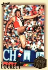 2018 AFL SELECT LEGACY HALL OF FAME SERIES 5 LIMITED EDITION TONY LOCKETT.