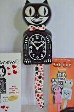 NEW AUTHENTIC FULL SIZE  Kit Cat Clock with DOTS Made In USA Ship in 48 Hrs.