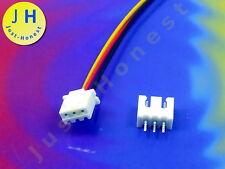 KIT BUCHSE E+ STECKER 3 polig / pins HEADER 2.54mm + Male Connector PCB #A1757