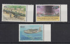 COCOS (Keeling) ISLANDS MNH 1992 STAMP SET 50TH ANNIVERSARY OF WWII SG 270-272