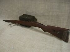 Original German CZ WW2 laminated wood stock with hardware