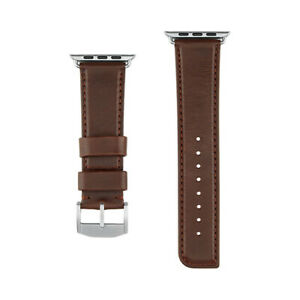 Case-Mate 42mm Signature Leather Watchband for Apple Watch 3/2/1 - Brown
