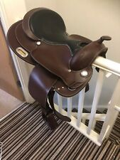 Randol's Leather Dallas 16 Inch Western Saddle With Vendors & Stirrups