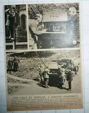 1920 Putney And Southwark Fire Brigade Wireless Experiment