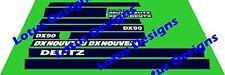 deutz DX90 stickers / decals