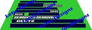 deutz DX90 stickers / decals