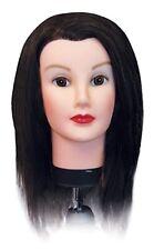 BURMAX COSMETOLOGY HEAD MANNEQUIN DELUXE DEBRA 100% HUMAN HAIR