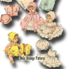 "Betsy Wetsy Dy Dee Vintage Baby Doll Clothes Pattern ~ 19/"" 20/"" 21/"" Tiny Tears"