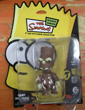 1 MODELLINO FIGURE KEY CHAIN I SIMPSON/THE SIMPSONS MANIA-BART ALBERO BROWN HOOD