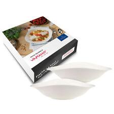 Villeroy & Boch 26x20cm Dune Pastaschale Set 2tlg VAPIANO Porzellan Pastateller