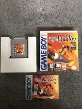 Aladdin Nintendo Gameboy Game Boxed Complete rare