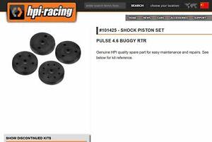 R/C Model Car HPI Racing #101425 SHOCK PISTON SET PULSE 4.6 BUGGY RTR Shim