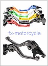 3D CNC Short Brake Clutch Levers Honda CBR600RR 03-2006 CBR954RR 2002-2003 Grey